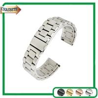Stainless Steel Watch Band For Citizen 18mm 20mm 22mm 23mm 24mm Men Women Metal Strap Belt