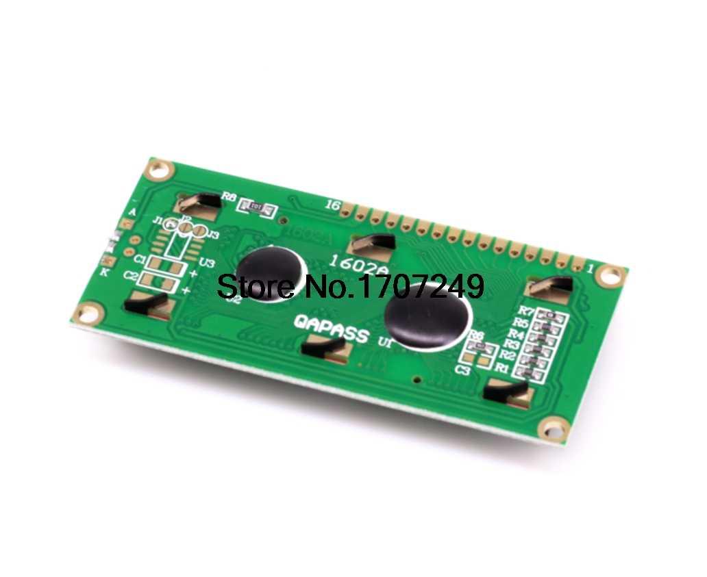 LCD module Vàng Xanh Màn Hình 16x2 Character LCD Hiển Thị Module 1602 LCD 5 V Vàng Xanh backlight Đen nhân vật đối với arduino