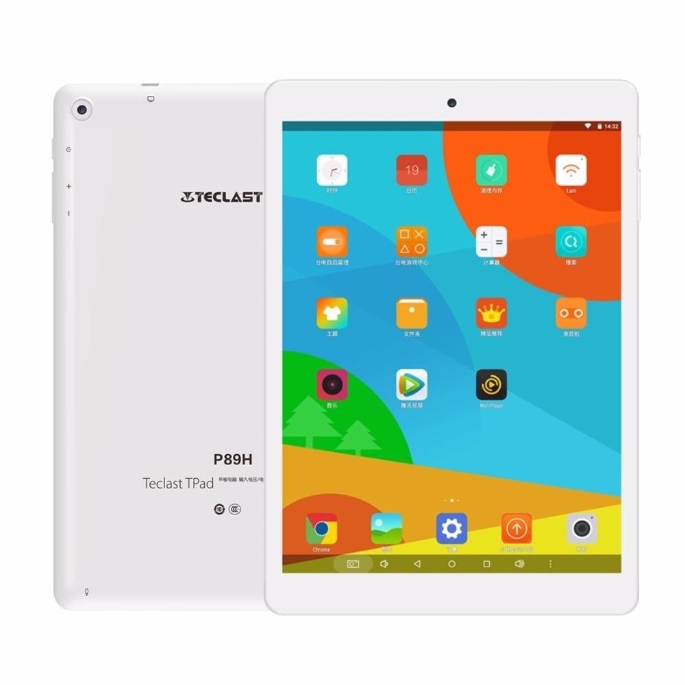 bilder für 7,85 zoll IPS 1024x768 Teclast P89H Tablet PC MTK8163 Android 6,0 Quad-Core 64-bit Dual WIFI 2,4G/5G GPS Bluetooth Dual kameras