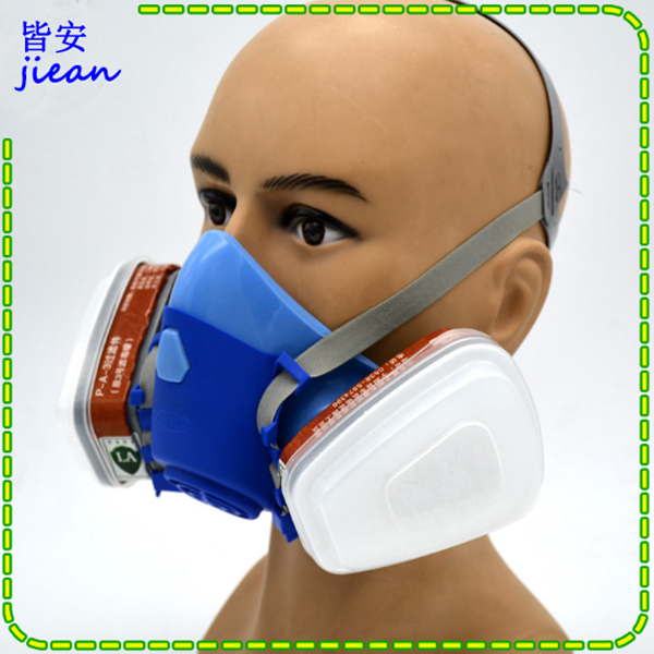 high quality respirator gas mask Modular Strengthen protection protective mask Painting pesticide industrial safety gasmaske high quality respirator gas mask brand practical type protective mask painting pesticide industrial safety chemical gas mask