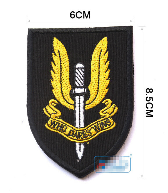 Energetic Embroidered Country Flag Badge 3d Tactical Badges Fabric Cloth Combat Armband Badges Home & Garden