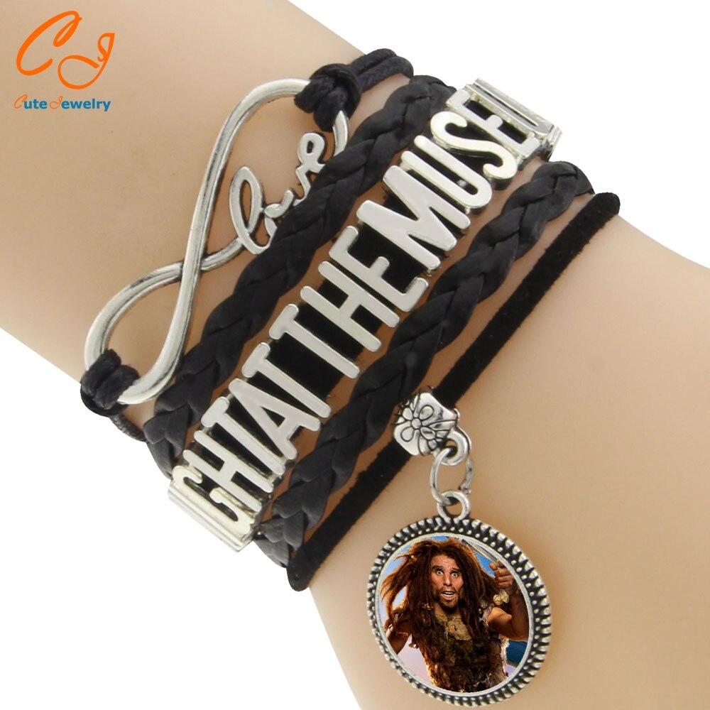 Multilayer Fashion Vintage <font><b>Night</b></font> <font><b>at</b></font> <font><b>the</b></font> <font><b>Museum</b></font> Rope Braided Bracelet Wrap Leather bracelets jewelry for man woman