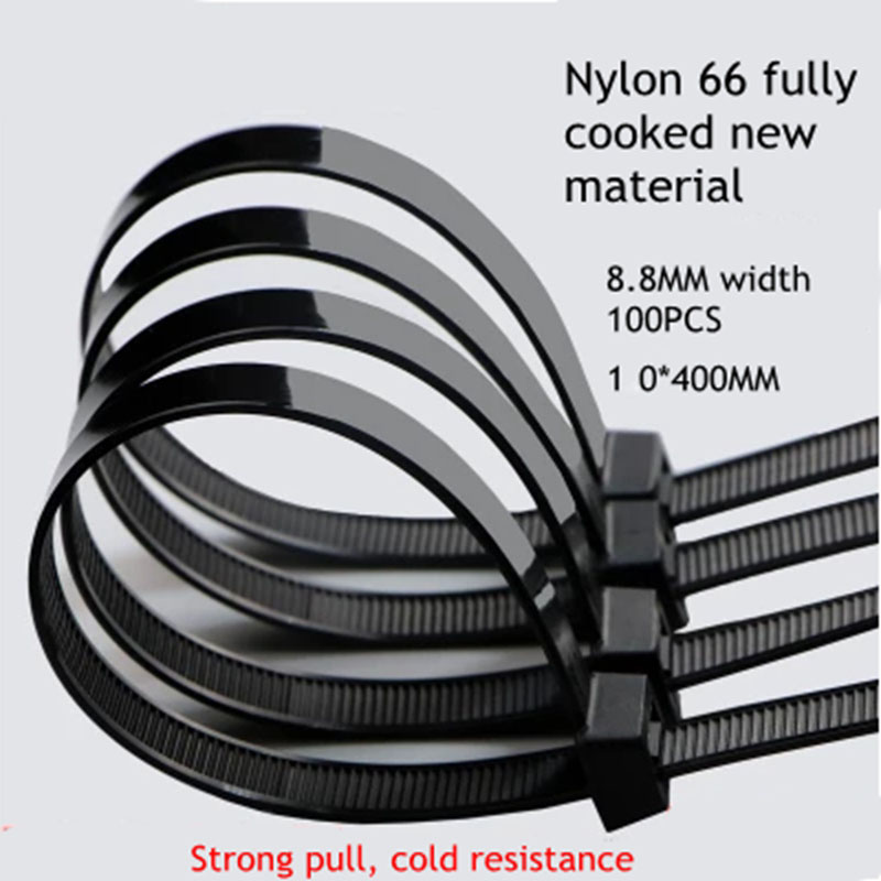 Cord Organizer Releasable Zip Ties Wrap Strap Wire Binding Cable Tie