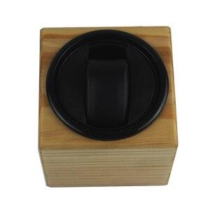 Devanadera para reloj, caja de almacenamiento para devanado de reloj LT de madera con rotación automática 1 + 0 (el exterior es de madera de pino) 2019