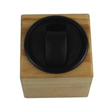 Часы Winder, LT деревянный автоматический поворот 1 + 0 Часы Winder чехол для хранения дисплей коробка (снаружи сосны цвет) 2019
