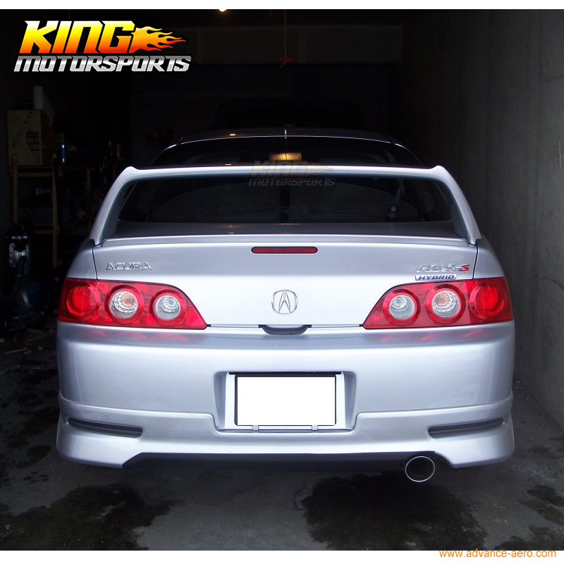 Fit For Acura RSX DC Aspec Mini Decklid For Type R Trunk - Acura rsx type r wing