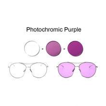 1,56 fotosensibles rosa o azul o púrpura única lente de visión SPH-rango de  8,00 ~ + 6,00 Max CLY- 6,00 óptica de lentes para ga. 4883045559