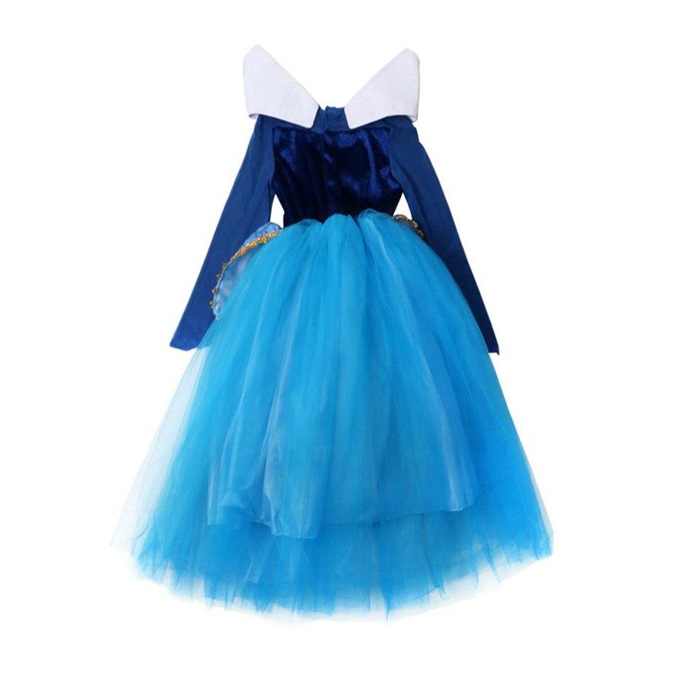 Blue Sleeping Beauty Cosplay Costume (2)