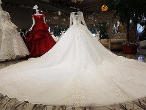 Image 5 - AIJINGYU ウェディングドレスメイドサテン新しいドレストルコ卸売工場デザイナーガウン 2 ピースのウェディングドレス