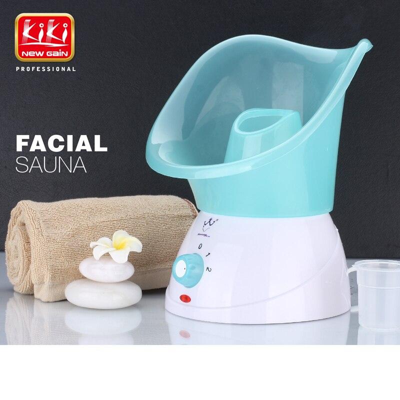 ФОТО KIKI Newgain Hot sale Facial Steamer  2 temprature settings Facial Sauna Face care tools Power off automatically