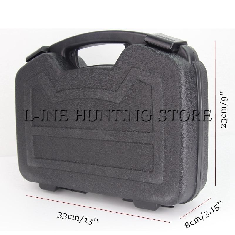 Chasse Airsoft Vitesse Pistolet Accessoires super forte type tactique ABS pistolet dur box Gun case boîte de rangement pour le tir en plein air