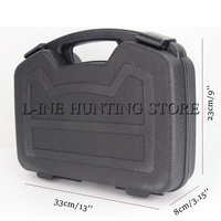 Hunting Airsoft Gear Gun Accessories super strong type tactical ABS pistol hard box Gun case storage box for shooting outdoor