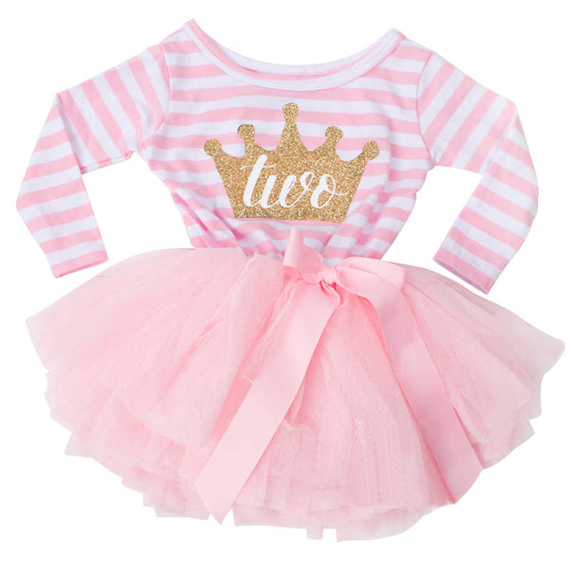 Toddler Baby Dress Princess First Communion baptism Children Clothes 1 Year Birthday Baby Girls Dresses Infant 2 year