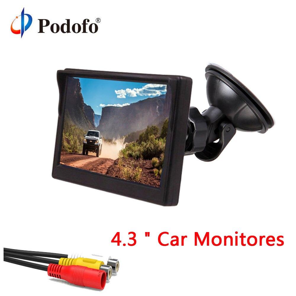 Podofo Car Monitor 4 3