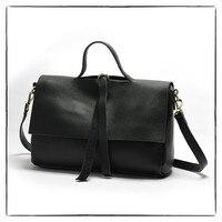 Vintage Style Luxury Brand Design Satchels Bag Women Shoulder Bag Genuine Leather Lady Crossbody Bag Cover Soft Leather Bag