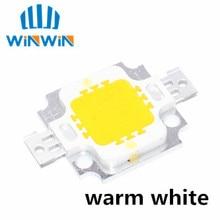 1 шт. 10 Вт светодиодный чип интегрированный высокой мощности 10 Вт светодиодный бисер 10 Вт теплый белый светодиодный чип 100-150 лм 10 Вт светодиодный чип