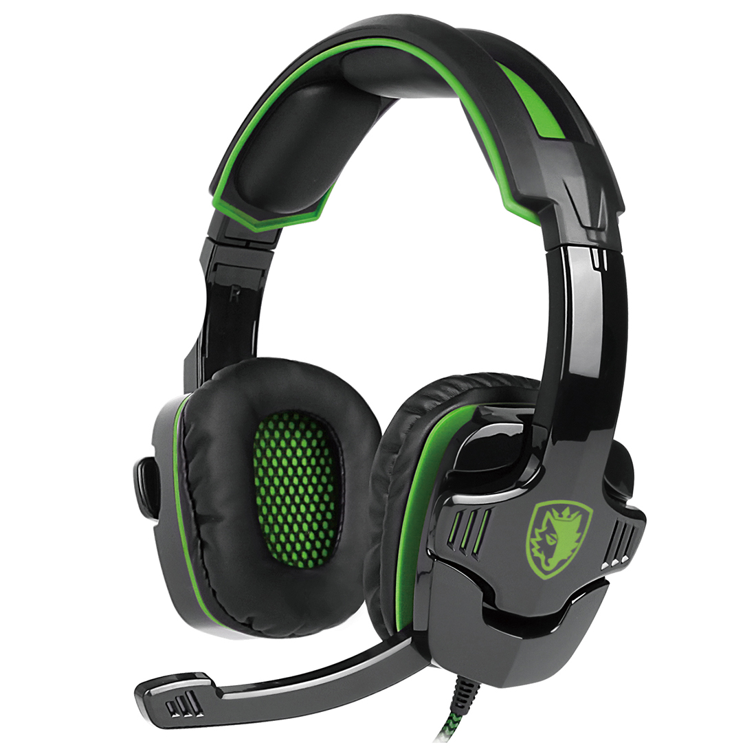 SADES SA-930 Stereo Surround Gaming Headset Headband Mic Headphone tuffstuff ppl 930