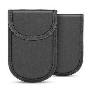 Image 4 - Car Key Signal Blocker Case Faraday Cage Fob Pouch Keyless RFID Blocking Bag