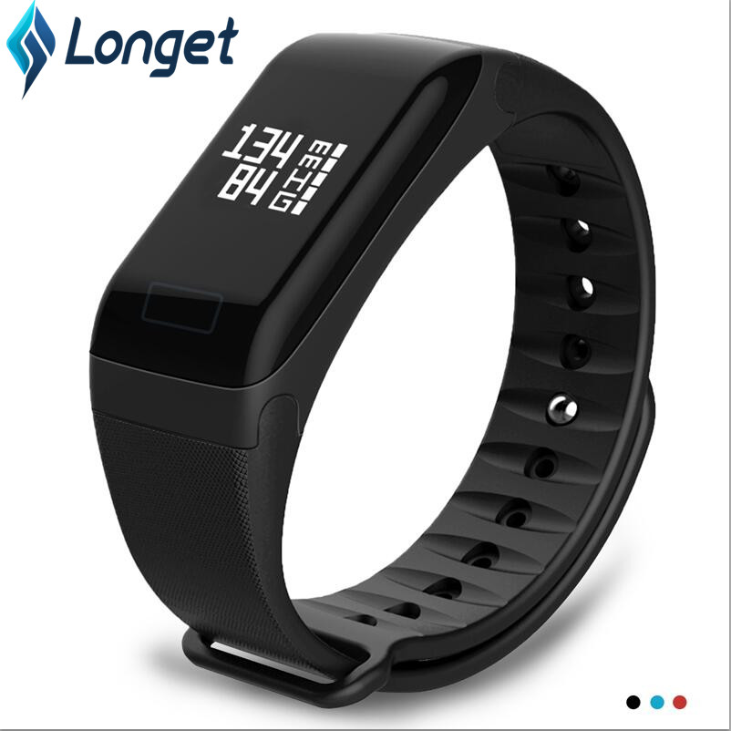 Smart Band LERBYEE F1 Wristband Heart Rate Monitor Fitness Flex Smart band Bracelet for Android iOS Smartphone PK mi Band 2 Браслет