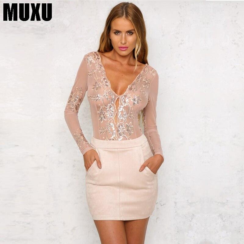 MUXU vestidos летняя одежда для женщин блесток блеск с длинными рукавами в стиле пэчворк сетки vestidos Курто Короткие bodycon Бесплатная доставка 2018