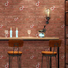цены 3 D Brick Wall Paper Roll Grey Vintage Non Woven Music Note Wallpapers Retro Wallpaper for Walls Vintage papel de parede tijolo