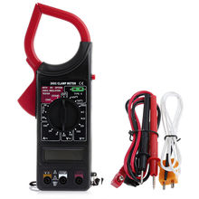 New Hot AC DC Voltz DT-201 ST-201 Digital Auto Range Clamp Multimeter Tester Meter DMM Useful