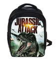 13 Inch Hot Jurassic Park Dinosaur Kids Backpack For Boys Girls Zoo Animal Children School Bags Mochila Infant