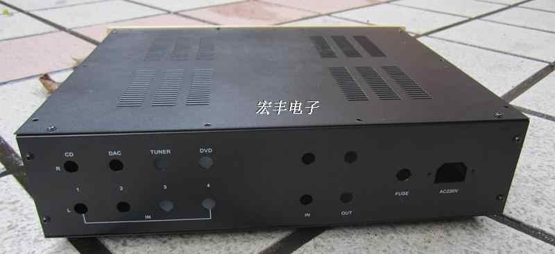 400*100*300 DIY новый усилитель шасси/Шасси лампового усилителя/интегрированный усилитель шасси/Шасси предварительного усилителя/корпус усилителя/коробка корпуса