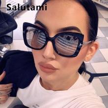 Oversize Cat Eye Sunglasses For Women Lu