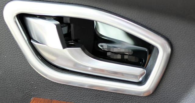 Awesome Inner Door Handles Wrist Bowl Cup Protective Cover Sticker Trim For Range  Rover Evoque Interior Mouldings
