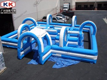 Inflatable Maze For Water Blaster or Laser Tag