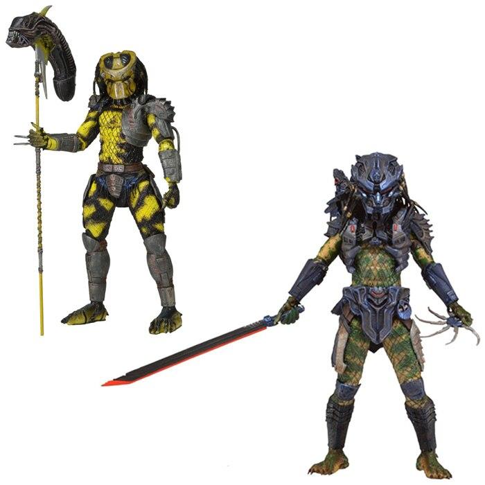 NECA prédateur série 11 guêpe prédateur bataille armure perdu prédateur classique science-fiction film 18 cm figurine 7