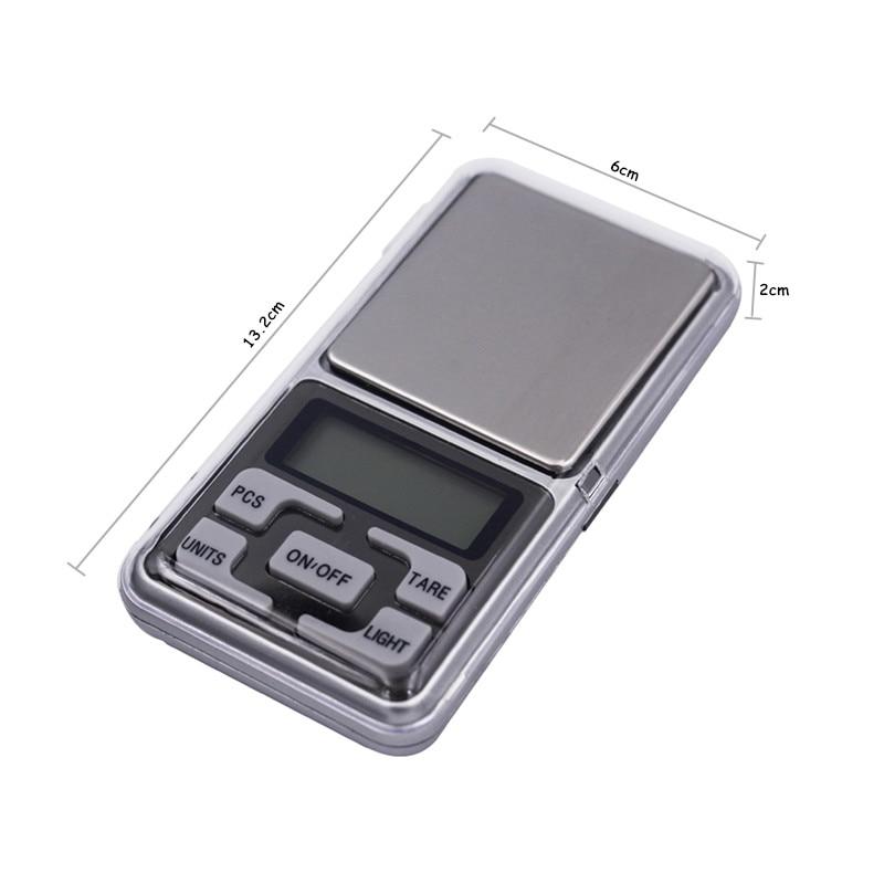 0,01 g 500 g mini bilancia digitale elettronica LCD con scatola al - Strumenti di misura - Fotografia 2