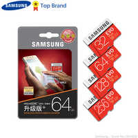 Samsung 100% original tf micro cartão de memória cartão sd microsd evo plus classe 10 3 128 gb smartphone tablet câmera