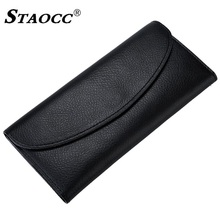 Slim Wallet Women Genuine Leather Long Hasp Thin Wallet Purse Simple Money Bag Cards Holder Purse Female Clutch Wallets Cowhide fashion women genuine leather red black bag cowhide wallet card money holder clutch purse long short purple original wallets