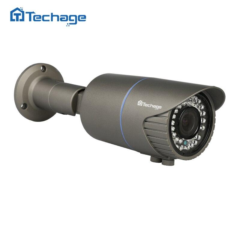 Techage 2,8 P 2MP 25fps CCTV 48 В в POE ip-камера 1080 мм-мм 12 мм моторизованный зум авто объектив Открытый Onvif видеонаблюдения IP камера