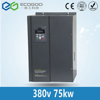 380V 75KW PMSM 150A motor driver frequency inverter for permanent magnet synchronous motor