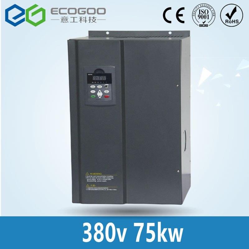 380V 75KW PMSM 150A motor driver frequency inverter for permanent magnet synchronous motor dhl ems new for sch neider inverter atv303h075n4 0 75kw 380v