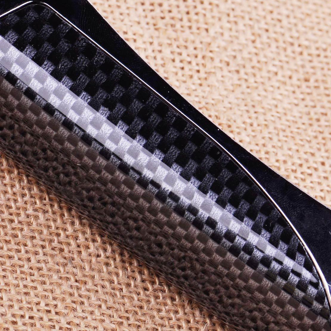 1pc universal Carbon Fiber Style Car Auto Plastic Hand Brake Cover Protector Decor Accessory