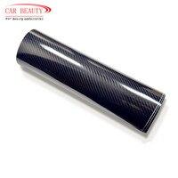Car Sticker Glossy Black 5D Carbon Fiber Vinyl Wrap Film DIY Car Decorative For Vehicle