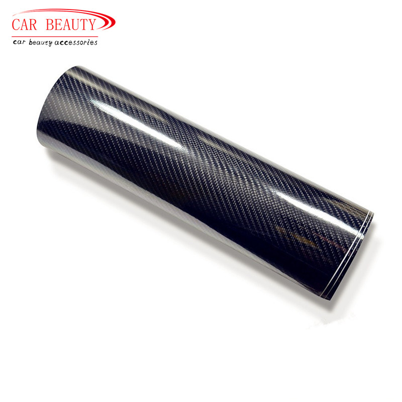 200x50cm Car Sticker High Glossy Black 5D Carbon Fiber Vinyl Wrap Film DIY Car Decorative For Vehicle Motorcycle diy rocker switch for car vehicle black red 11cm