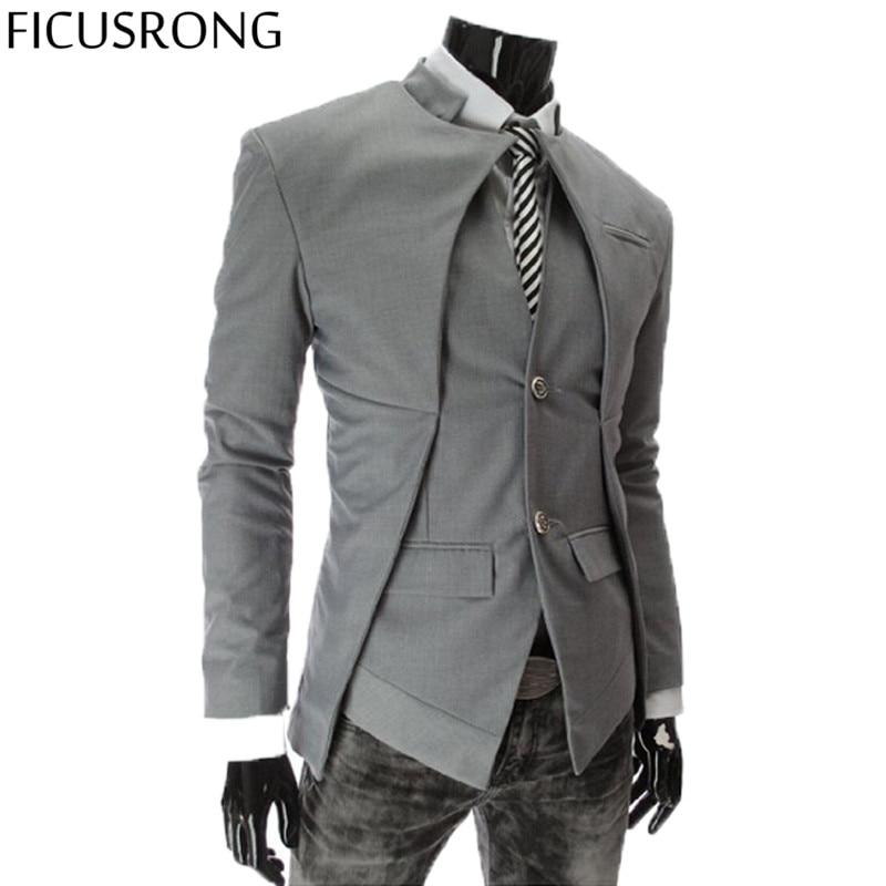 FICUSRONG 2017 Brand Designer Fashion Mens Suit Jacket ...
