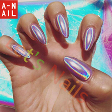 Holographic Magic Mirror Art Nail Glitter Powder