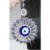 L28CM Flor Azul de Vidro turco Mau Olhado Nazar Boncuk Decoração Home Office Parede Charme Pendurado Amuleto Protetor Árabe Nazar