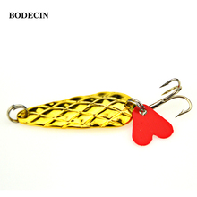 4PCS Fishing Spoon Metal Sequins Lures Lure Isca Artificial Peche Wobblers Spoonsbaits Spinner Bait Wobbler Tackle Supplies All