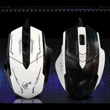 2400 DPI Customize 6D Buttons LED Wired Gaming Mouse Ergonomic design souris avec fil For PC Laptop for game, home,office,etc