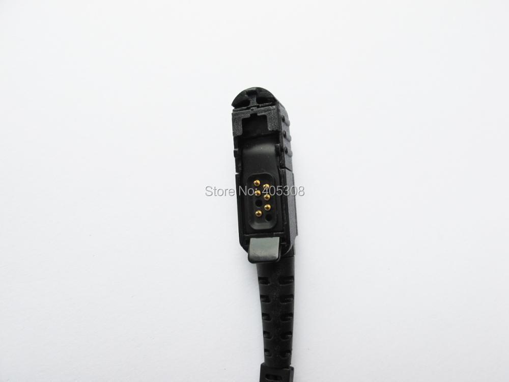 2-wire Headset Mic Earpiece For Motorola MTP3200 MTP3250 MTP3550 Portable Radio