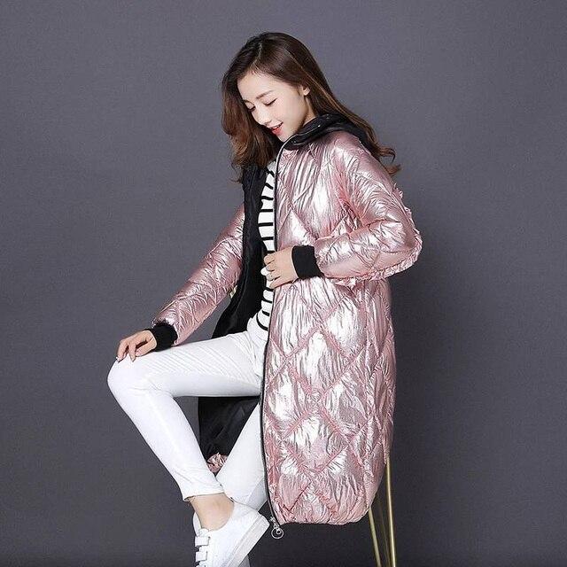 Kurtka wiosenna damska 2019 moda jasny bawełniany płaszcz