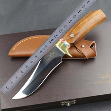 Jeslon Mantis M2 Tactical Knife Fixed Damascus Handmade Knife Forged Pattern Damascus Steel Blade Straight Outdoor Hunting Knife