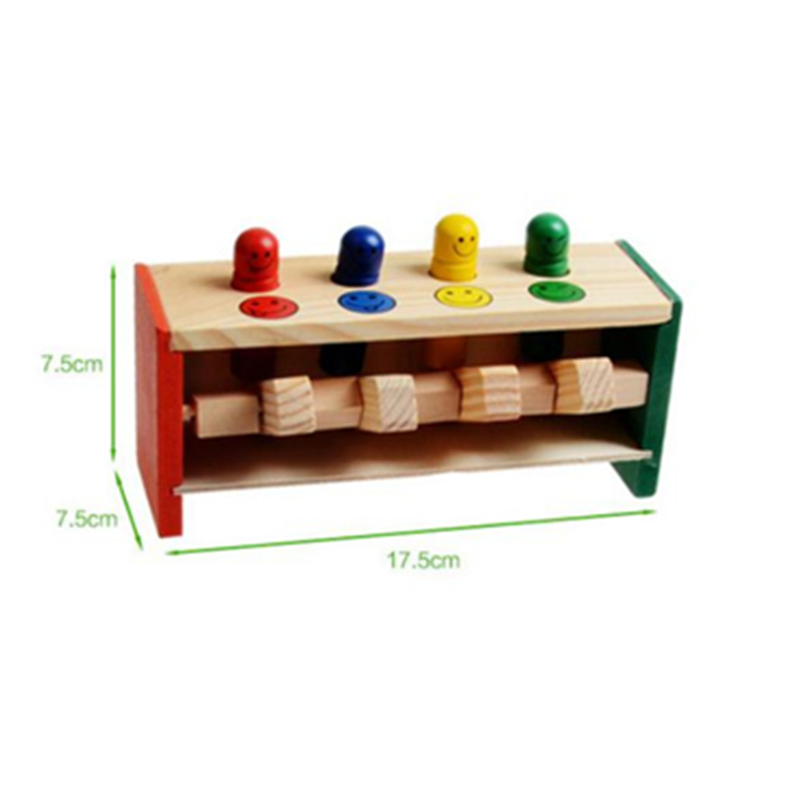 Colorful-Mini-Cute-Wooden-Hammer-Pounding-Bench-Blow-Air-Interesting-Toy-For-Baby-Kids-Gifts-4